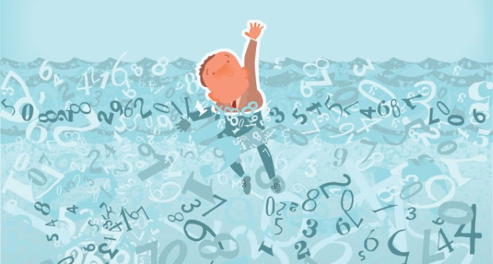 drowning in data