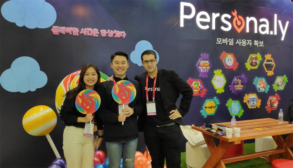 Persona.ly's GSTAR Booth - The Photo-op Area