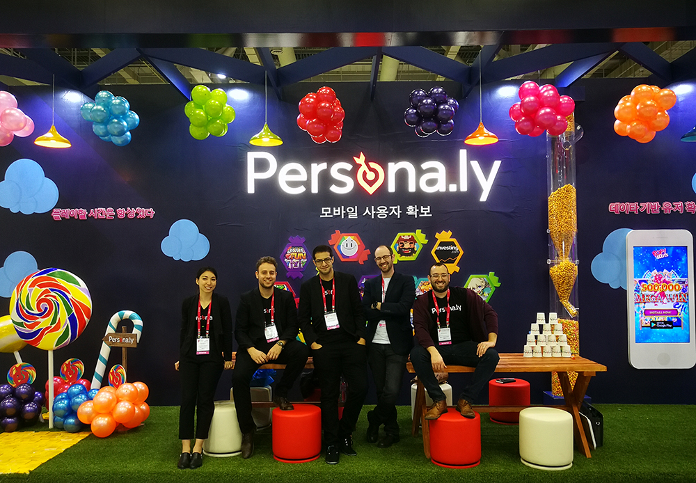 Persona.ly's GSTAR Booth - The Persona.ly Team